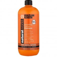 Natural World Brazilian Keratin Smoothing Therapy šampūnas 1000ml